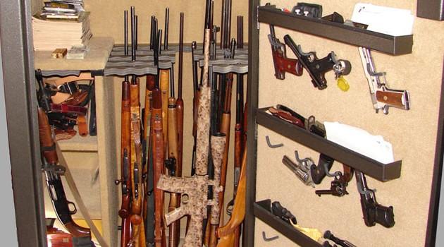 Gun safety storage