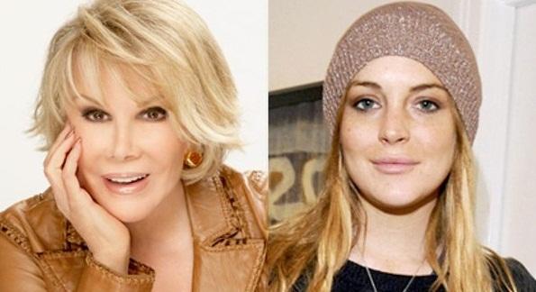 Joan Rivers & Lindsay Lohan