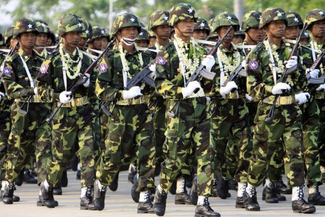 Mynamar Army