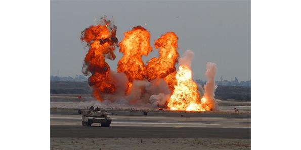 blast radius of explosives
