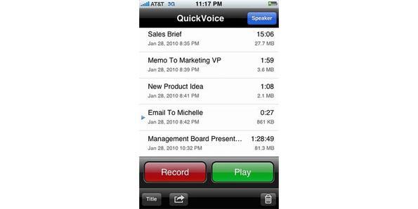 Quick Voice Recorder