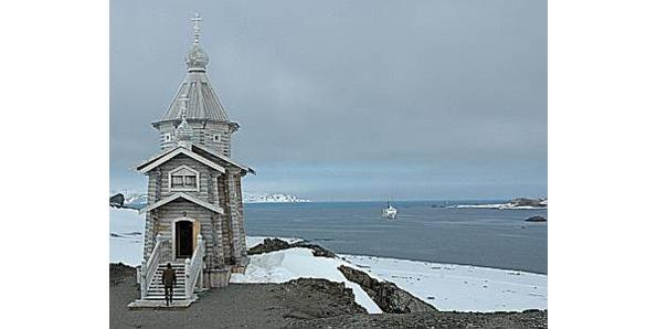 Trinity Church in Antarctica