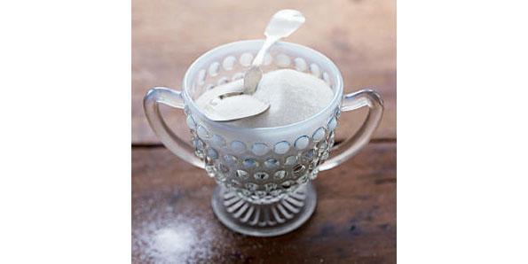 sugar in a cup