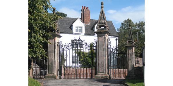 Ashbourne's Gatepost Skulls