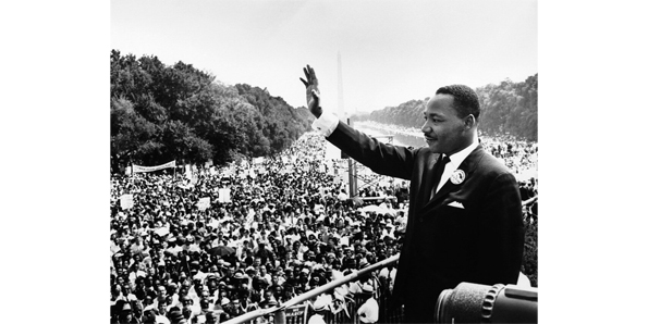 """I have a dream speech"" by Martin Luther King Jr."
