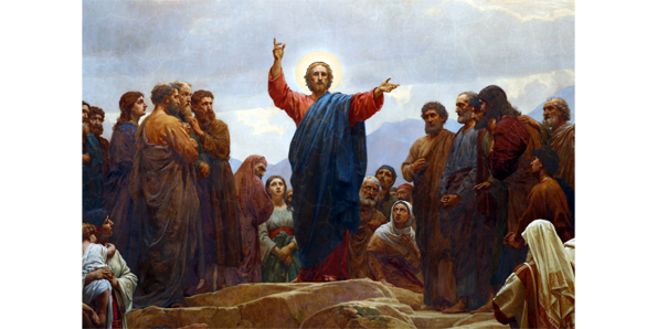 """The sermon on the mount"" by Jesus Christ"