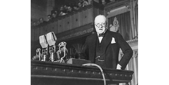 """We shall fight on the beaches speech"" by Winston Churchill"