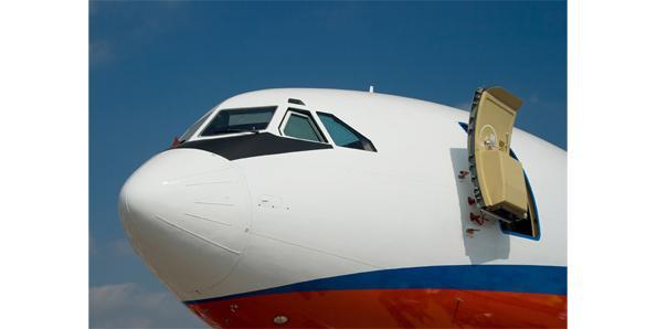 plane door