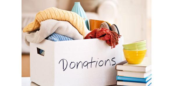 Donating your stuff