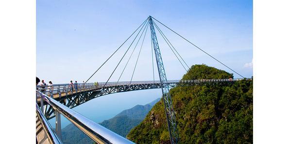 Langkawi Sky Bridge in Langkawi, Malaysia