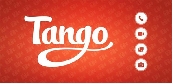 Tango text,voice and video