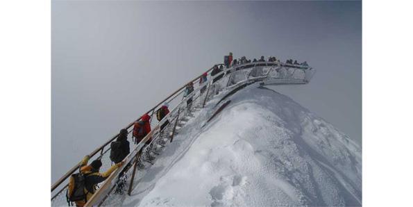 Top of Tyrol, Stubai Glacier in Austria