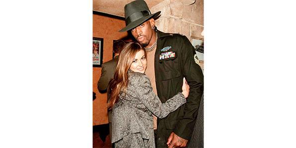 Dennis Rodman & Carmen Electra