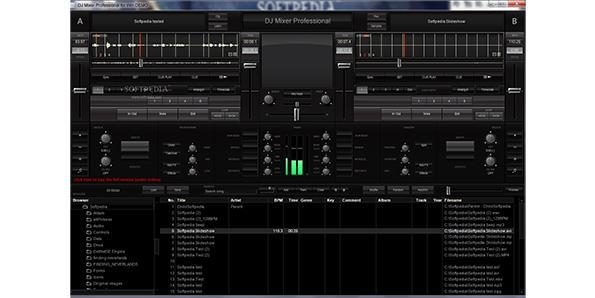 DJ Mixer Professional