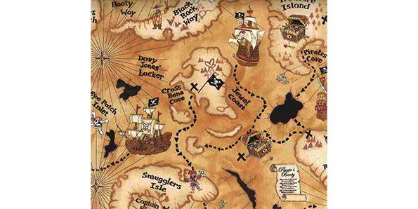 Make a treasure map