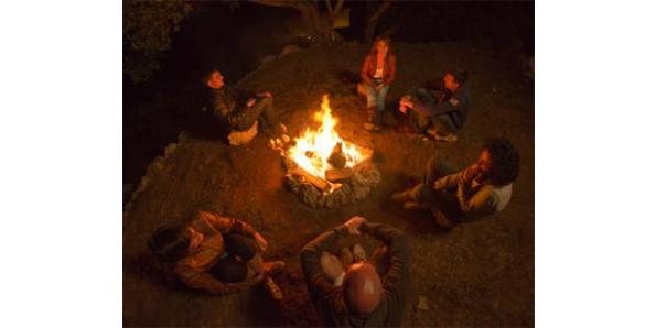 Tell scary stories to campers