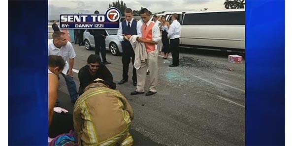 The prom-bound teens who came to the aid of car-crash victims