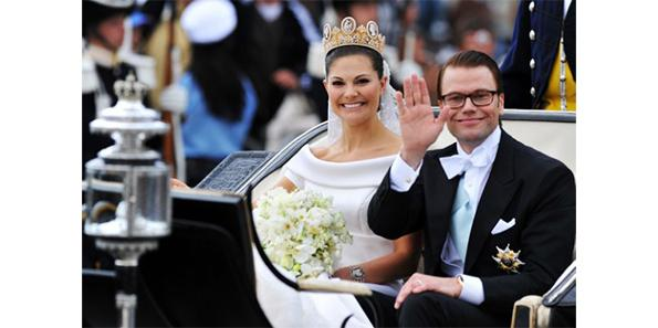 Crown Princess Victoria of Sweden and Daniel Westling