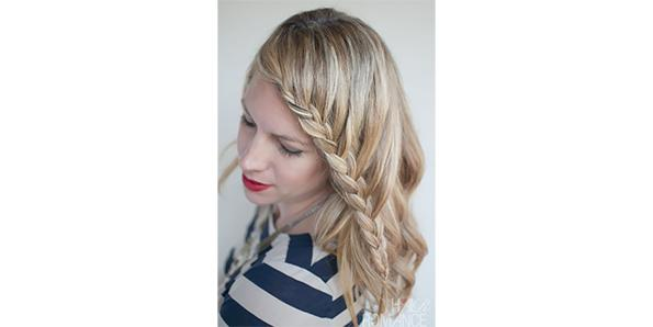 French Lace Fringe Braid