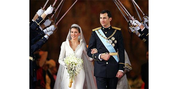Prince Felipe and Letizia Ortiz of Spain