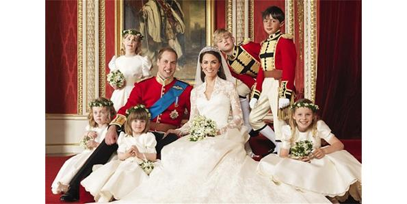 Prince William and Kate Middleton of Great Britain