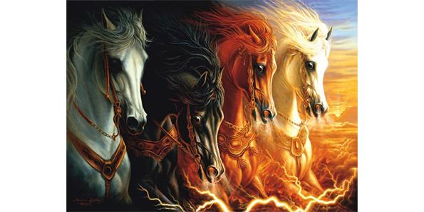 Apocalypse's four horses