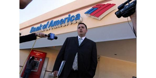 Bank of America was Foreclosed