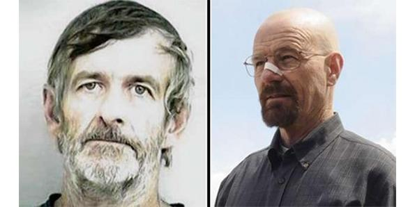There is really a meth kingpin named Walter White