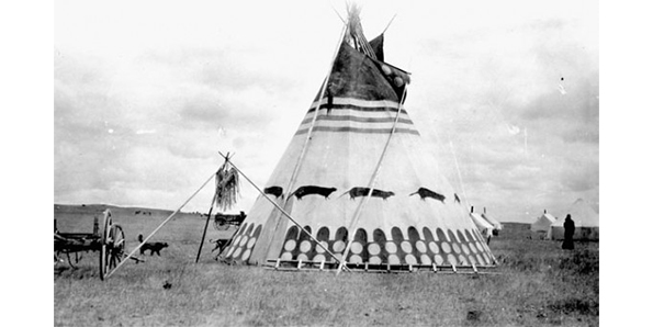 They Lived In Teepees