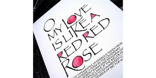 'A Red, Red Rose' by Robert Burns