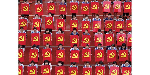 China is country of terrifying communism