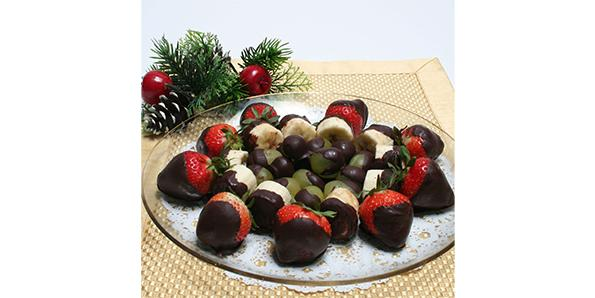 Chocolate-Dipped Fruit