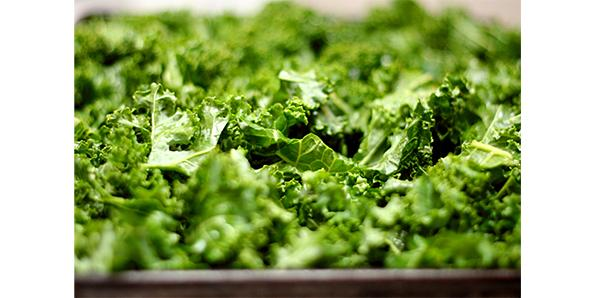 Green leafy vegetables like Kale & Spinach