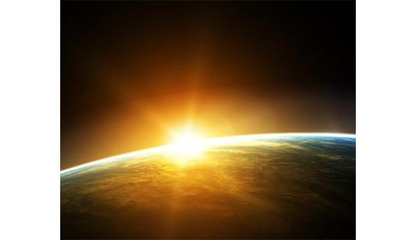 Light from the Sun takes eight minutes to reach Earth