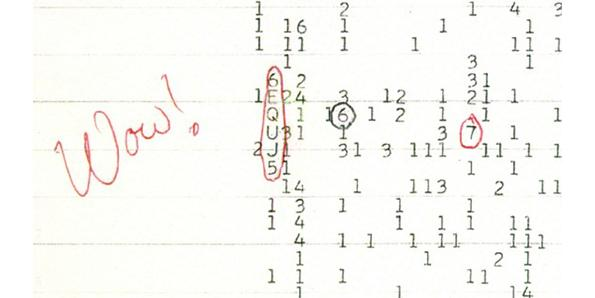 """The """"WOW"""" Signal"""