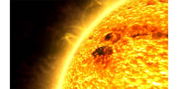 The Sun is huge, but tiny
