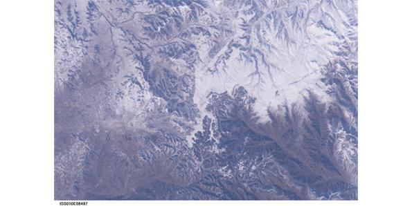 We can see the Great Wall of China from Space