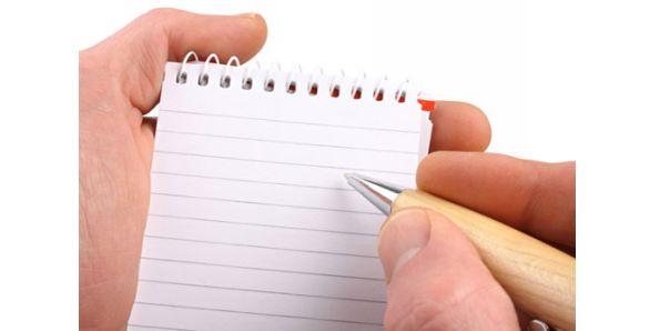 Grab a pen and paper