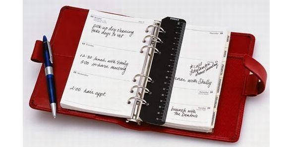 Maintaining a diary